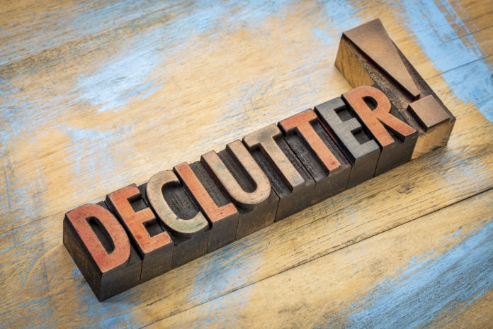 Declutter Tips Dos and Don'ts