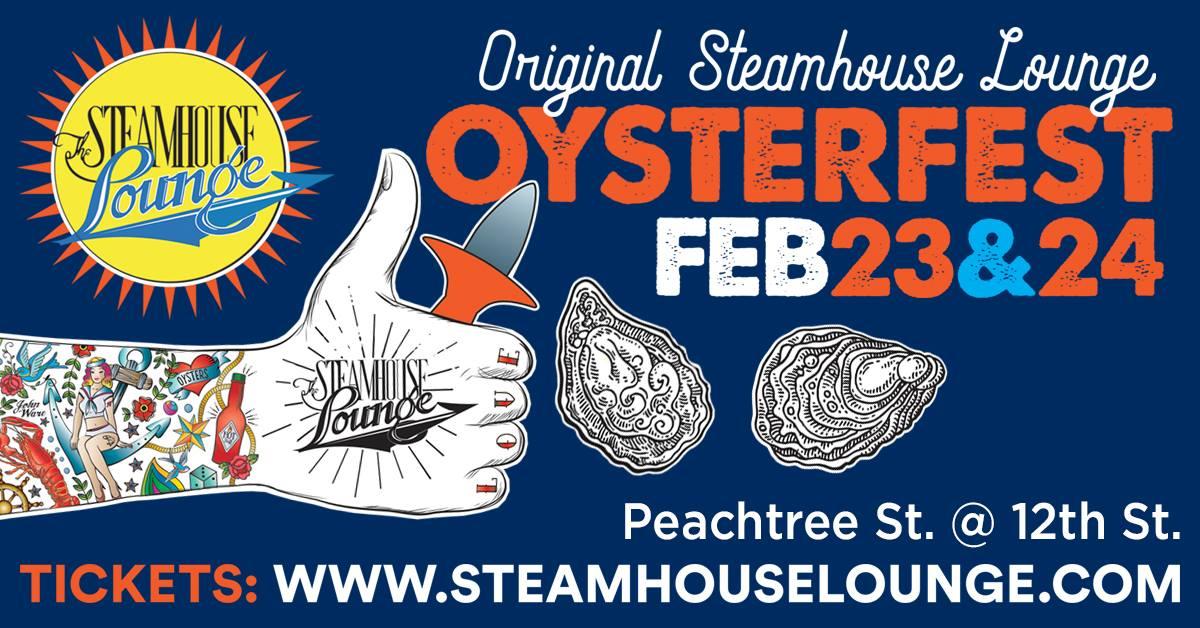 Steamhouse Lounge Oysterfest Atlanta