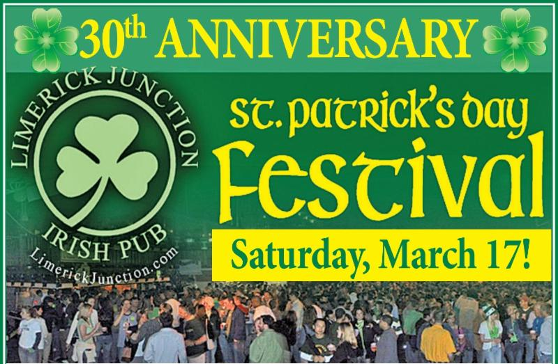 Limerick Junction's 30th Annual St. Patrick's Day Festival