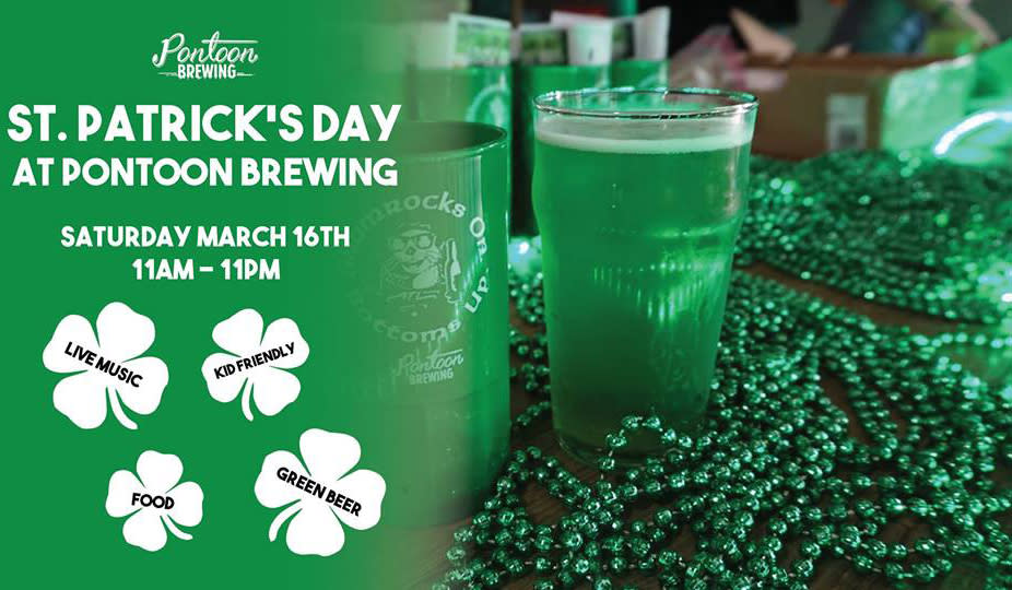 St. Patrick's Day at Pontoon Brewing in Sandy Springs