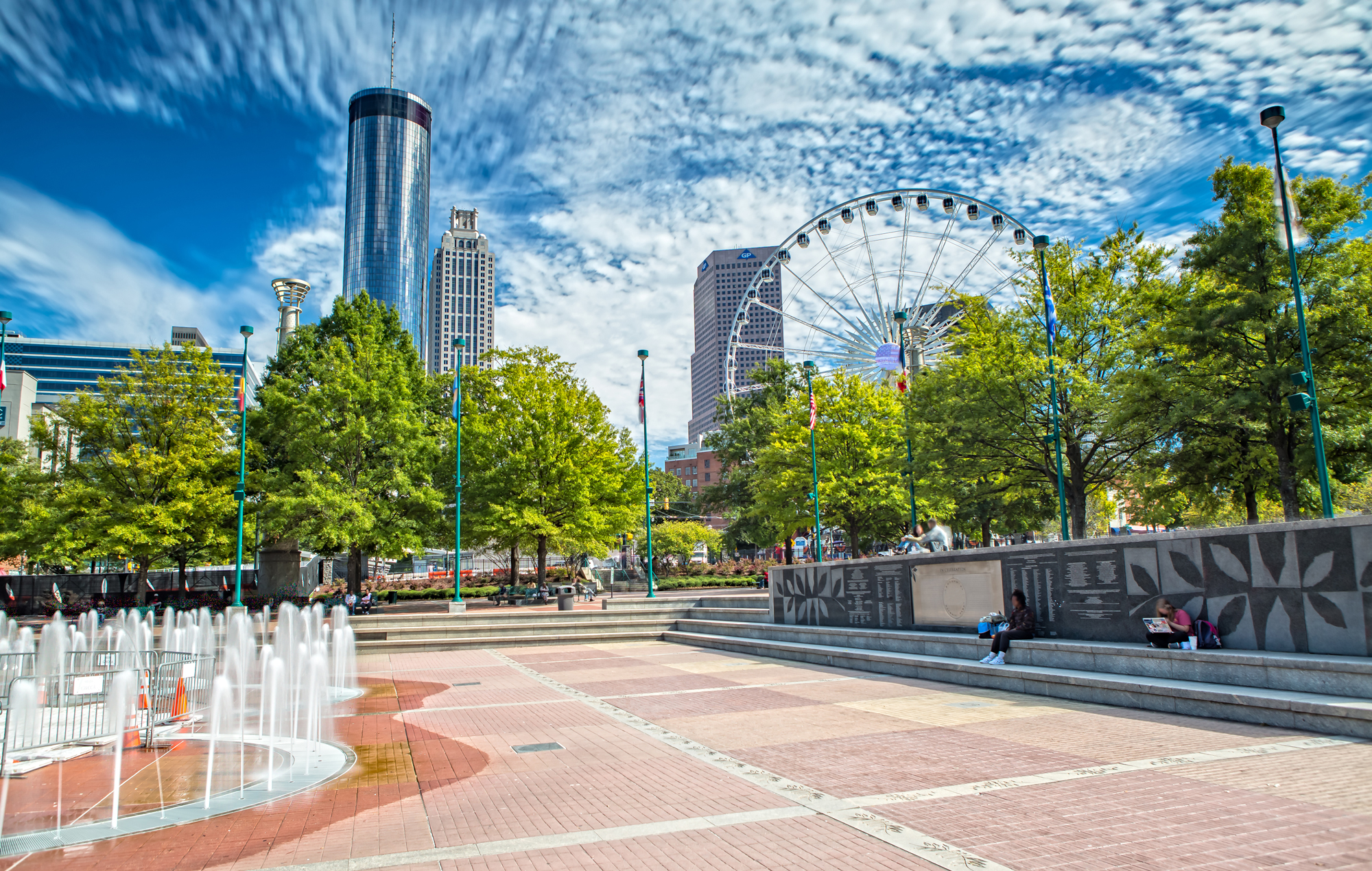 Centennial Olympic Park in Atlanta, Georgia